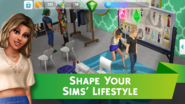 The Sims Mobile screenshot 4 'Shape your Sims' lifestyle'.png