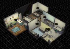 Custom basement made in The Sims 4.png