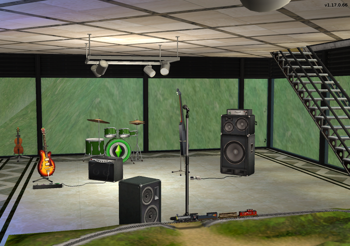 Amar's Clothing and Instruments drums guitar bass microphone.png