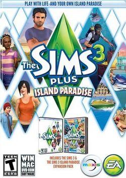 The Sims 3 Plus Island Paradise Cover.jpg