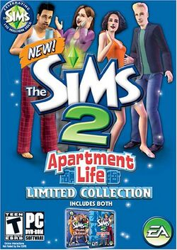 The Sims 2 Apartment Life Limited Collection Cover.jpg