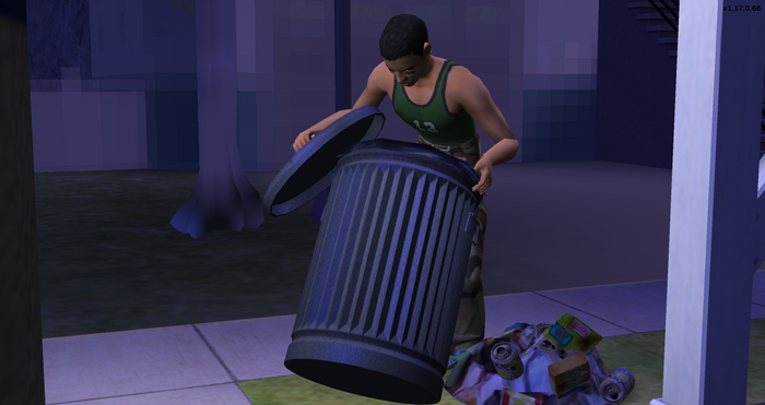 Serge picking up his knocked over trash can.png