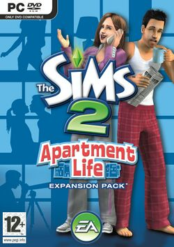 The Sims 2 Apartment Life Cover.jpg