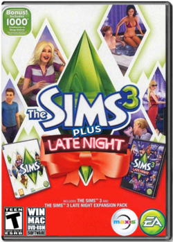 The Sims 3 Plus Late Night Cover.png