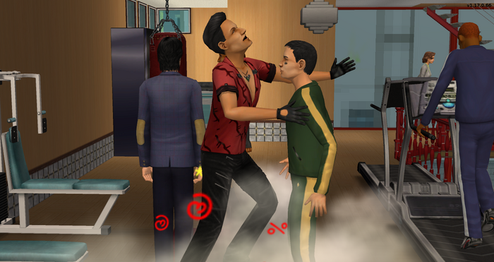 Jason Menon starting a fight with Serge.png