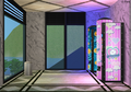 Amar's Clothing and Instruments fourth floor vending machines.png