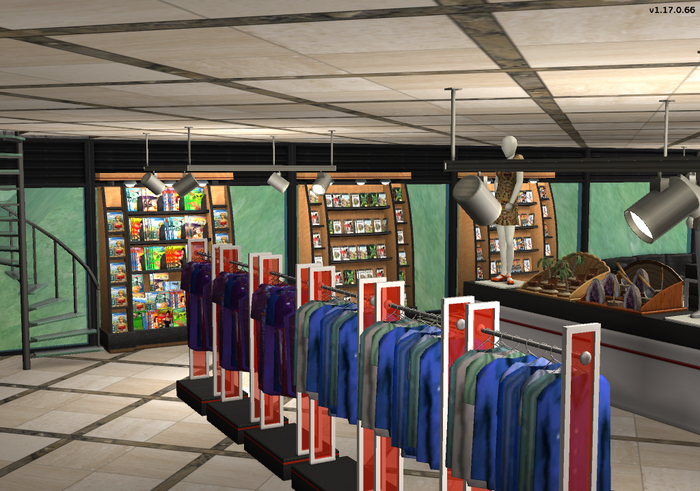 Amar's Clothing and Instruments clothing racks games and magazines 2.png