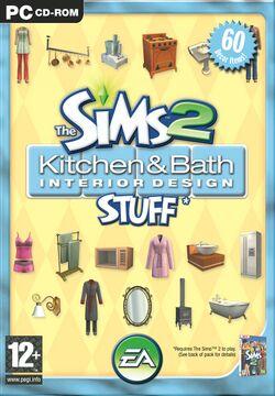 The Sims 2 Kitchen & Bath Interior Design Stuff Cover.jpg
