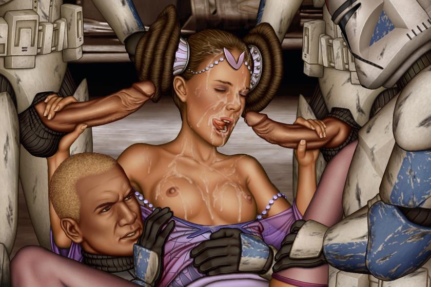 Star wars anime porn comics