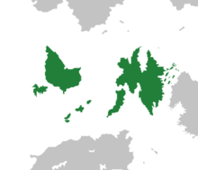 Location of Eyjaria