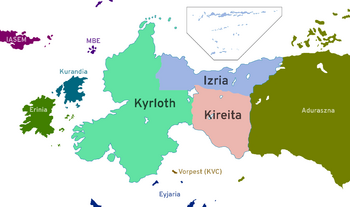 the West Borean Federation in western Borea