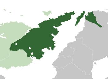 Location of Tano in Itur