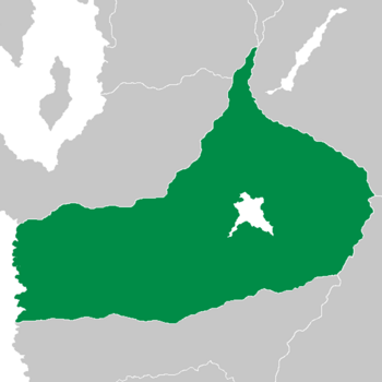 Location of Cascadii