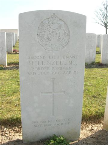 2nd Lt. H.H. Linzell headstone.jpg