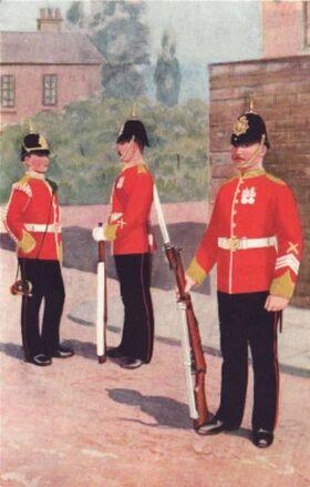 Border Regiment 1914