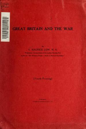 Great Britain and the War.djvu