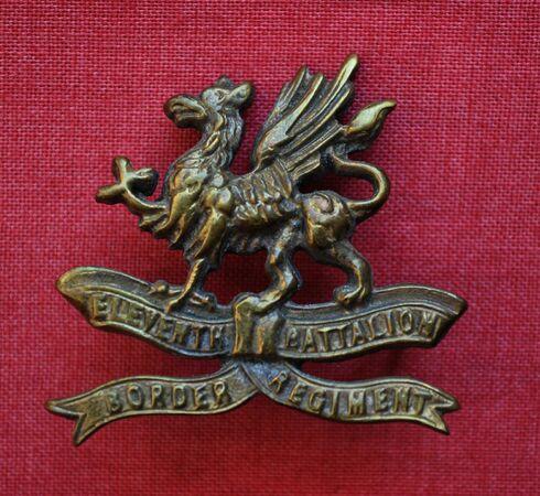 11th Border Regiment cap badge (brass).jpg
