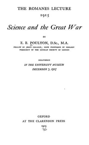 Science and the Great War.djvu