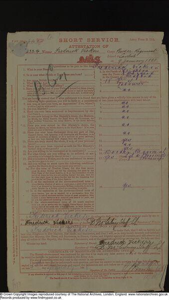 Frederick Vickers Service Records 1888 (01).jpg