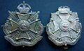 4th Border Regiment cap badge (replica and original).jpg