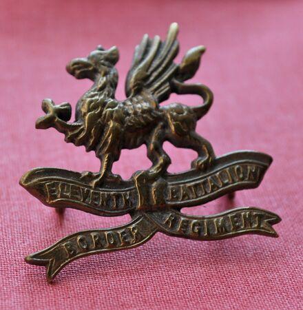 11th Border Regiment cap badge (brass) 02.jpg