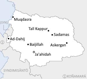 Mapa ARD Al-Aradmalik