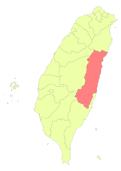 Taiwan ROC political division map Hualien County.png