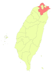 Taiwan ROC political division map New Taipei City.png