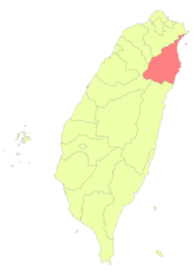 Taiwan ROC political division map Yilan County.png