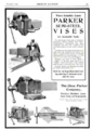 Ad 1907 Parker semi-steel vises.png