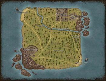 Начальный остров