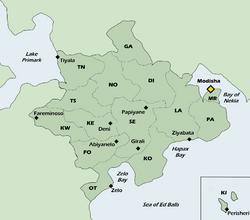 Location of Yakolira on Aquameda
